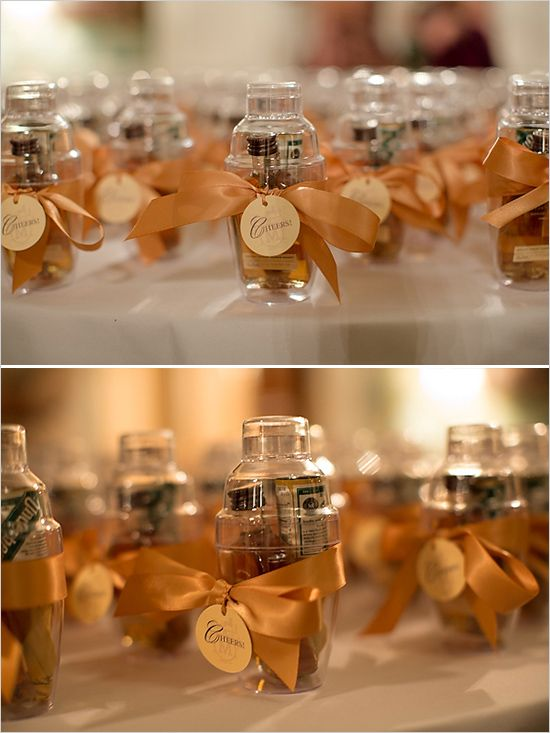 Fall wedding favors ideas