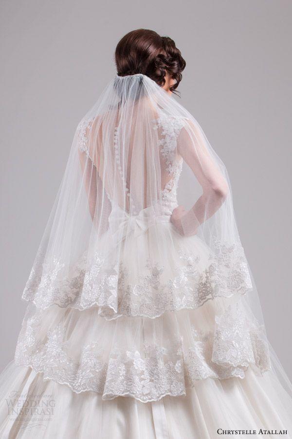 Свадьба - Chrystelle Atallah Spring 2015 Wedding Dresses — Jeanette Bridal Collection