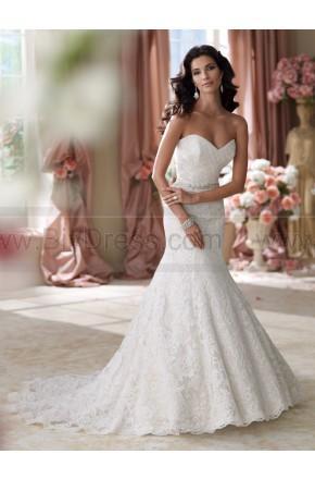 Hochzeit - David Tutera For Mon Cheri 114280-Martha Wedding Dress