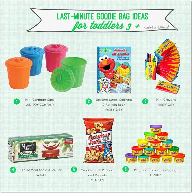 Goodie Bags For Kids Last Minute Ideas 3 And Up