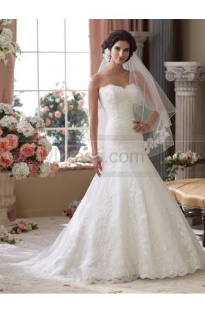 Düğün - David Tutera For Mon Cheri 114283-Gretna Wedding Dress