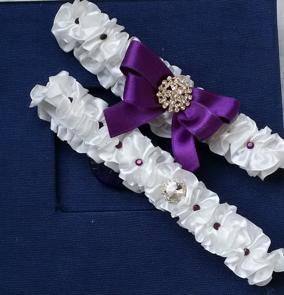 Wedding - Wedding leg garter, Bridal garter set, Garter, Rustic wedding garter, İvory ribbon garter, Bridal accessuary, Pearl and ribbon garter,