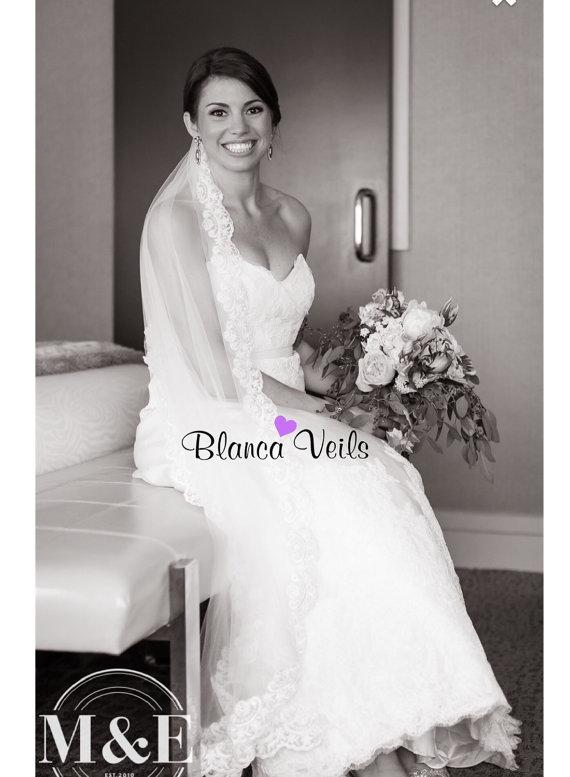 Mariage - Soft Lace Wedding Veil