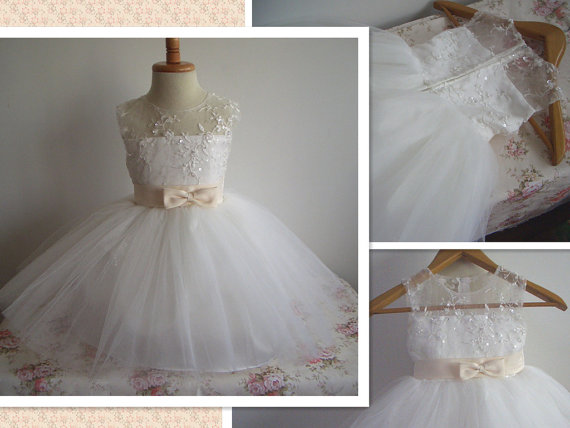 Tulle Christening Gown