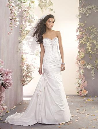 Alfred Angelo Wedding Dress Crystal Beading Style 2404 2334098
