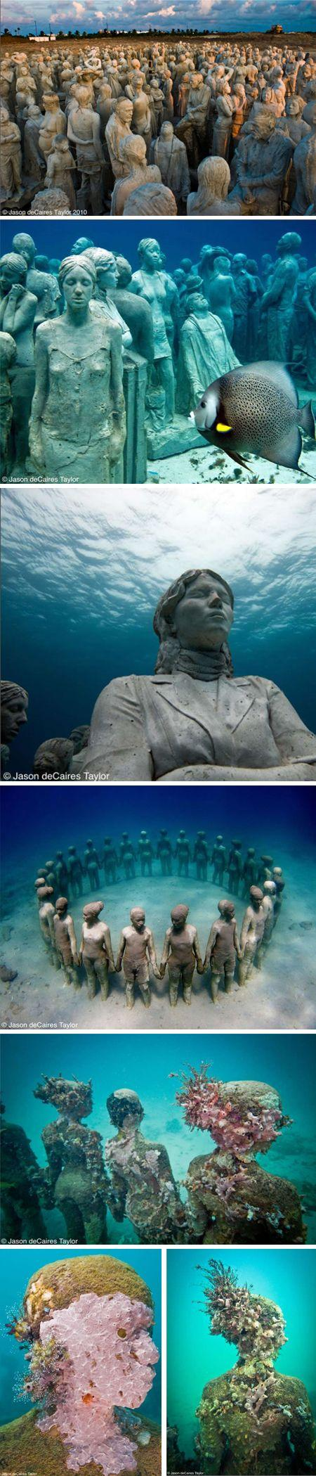 Свадьба - Jason Decaires Taylor - Insanely Beautiful, Kinda Spooky, And Environmentally Friendly All In One Shot.
