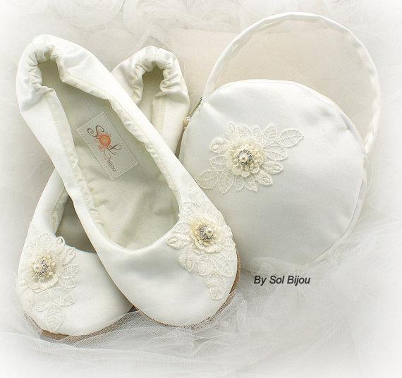 Purse Handbag Clutch Wedding Ballet Flats First ...