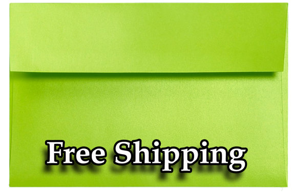 "زفاف - A7 Lime Green Astrobright  5-1/4"" x 7-1/4"" Envelopes for 5"" x 7"" Invitations Cards Announcements Weddings Photos Crafts Gift Crafts Shower"