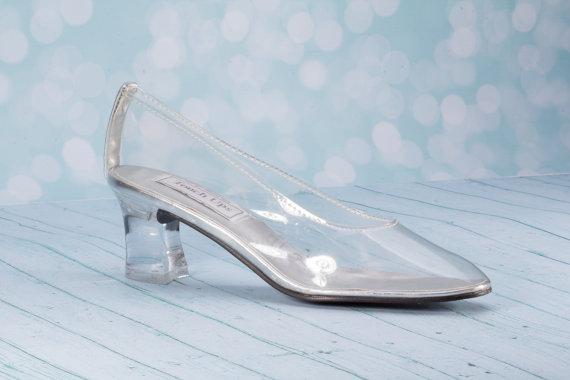 "Mariage - 2""  Cinderella Shoe - Fairy Tale Shoes - Medium Heel Shoe - Wedding Shoes  -Choose From Three Crystal Choices Custom Wedding Shoe Cinderella"