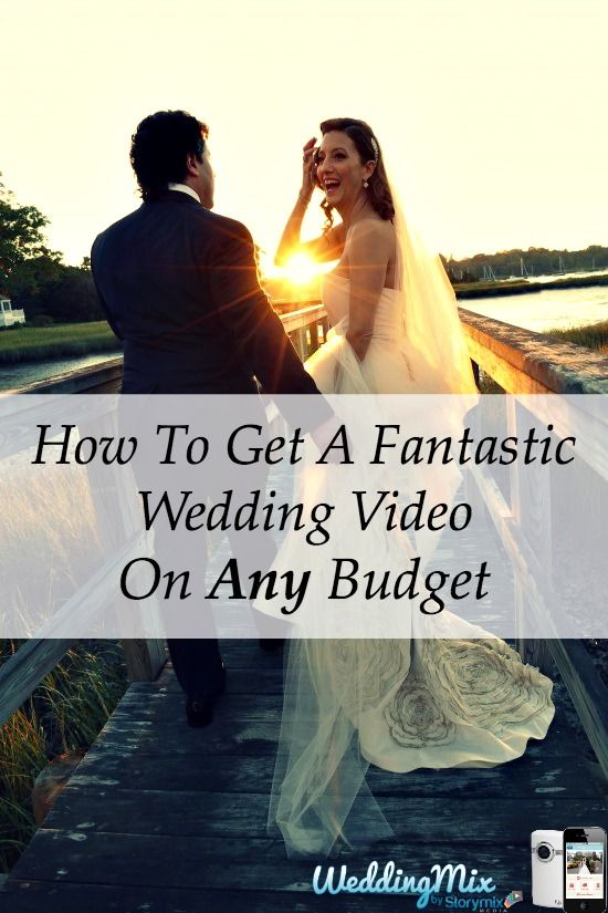 Mariage - How To Get A Fantastic Wedding Video On Any Budget