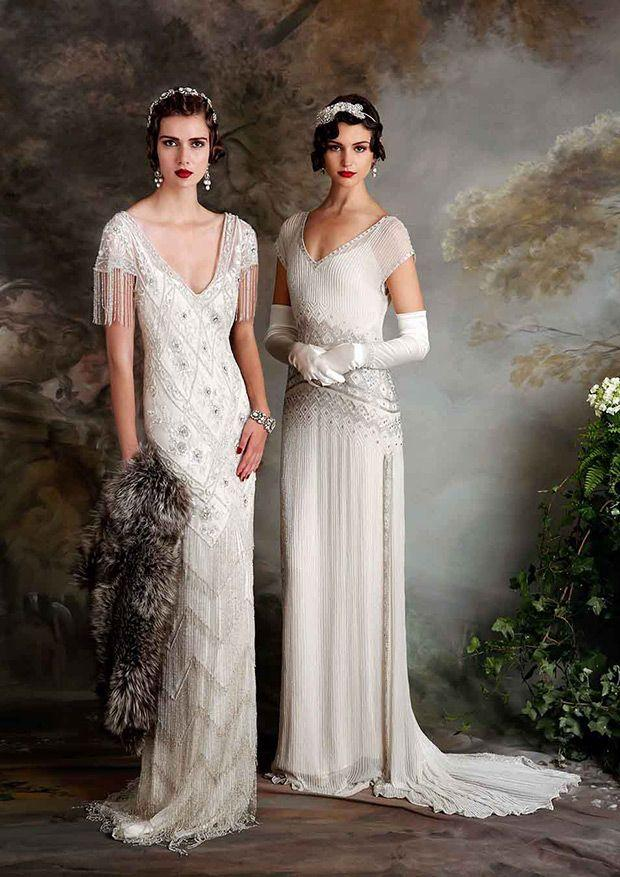 Roaring 20s style wedding dresses dress ideas for Roaring 20s wedding dress