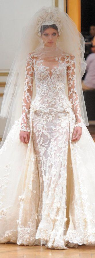 Wedding - Zuhair Murad Fall 2013 Couture Collection Themed Enchanted Forest