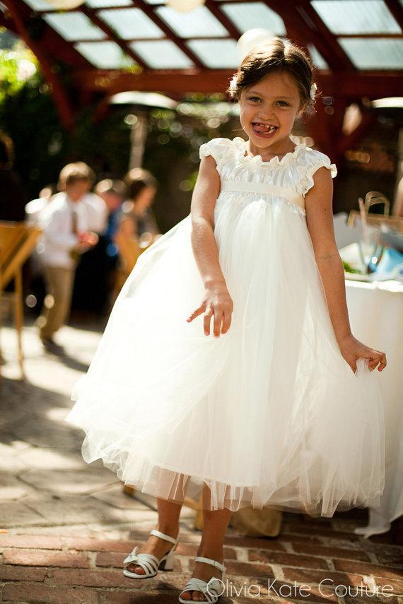 Hochzeit - Flower Girl Dress