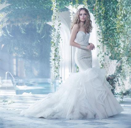 Свадьба - Bridal Gown 2015 Alvina Valenta Style AV9414