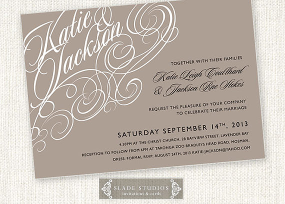 Print At Home Wedding Invitations is one of our best ideas you might choose for invitation design