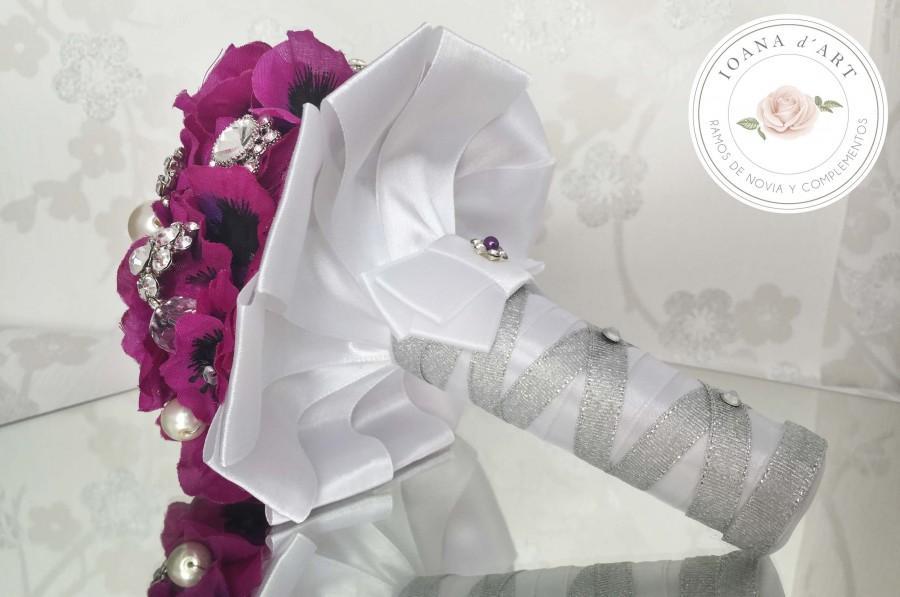 Mariage - ramo de broches