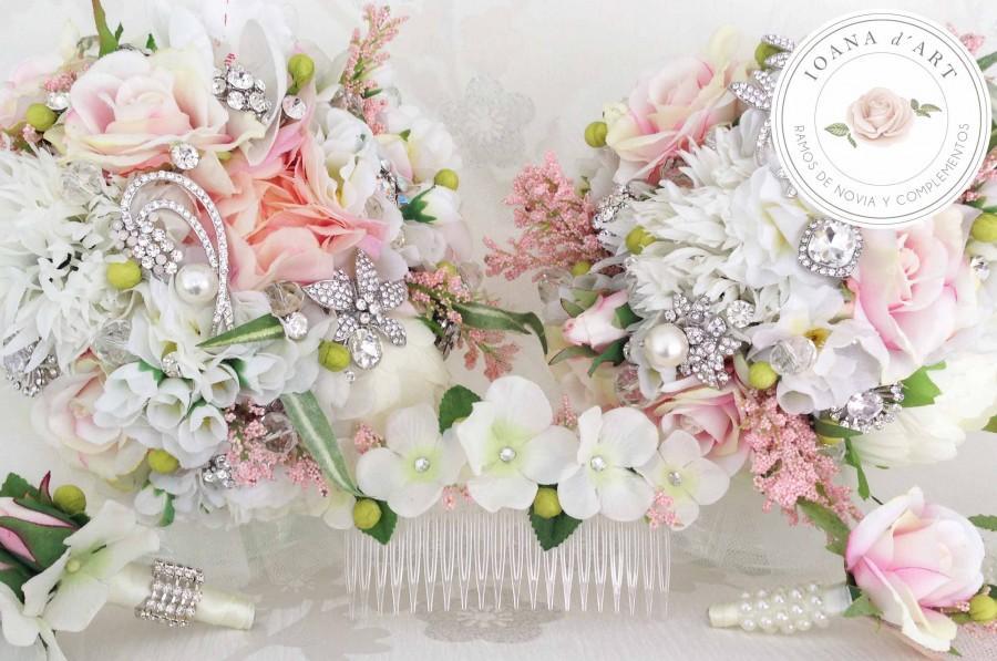 Свадьба - ramo de broches