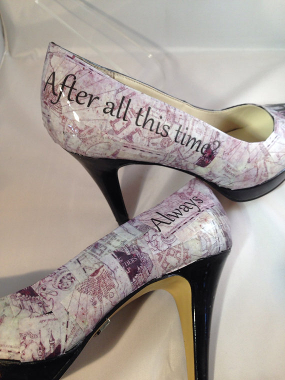 Harry Potter Custom Order Wedding Heels