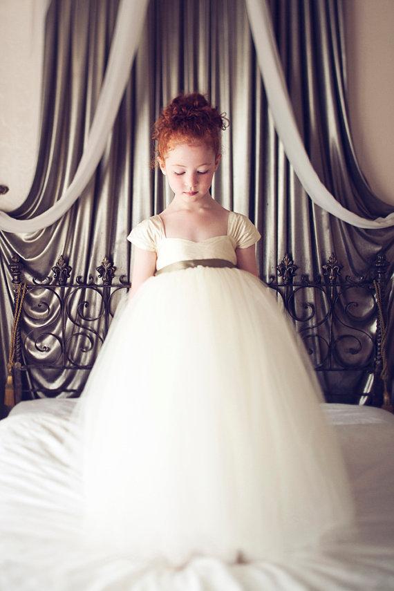Свадьба - Flower Girl Dress