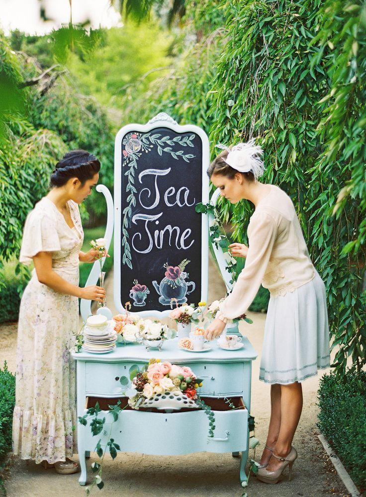 Свадьба - Tea Party