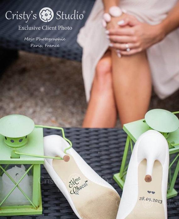 Hochzeit - Wedding Shoe Decals -