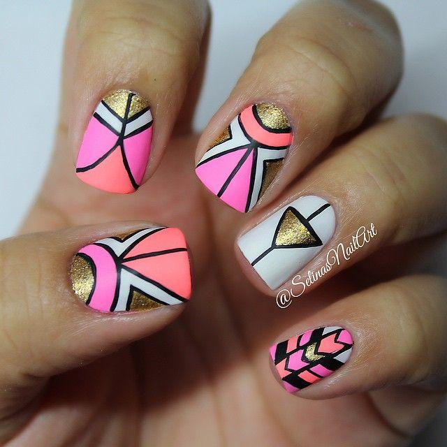 Nail - 30 Eye-Catching Summer Nail Art Designs #2336801 - Weddbook