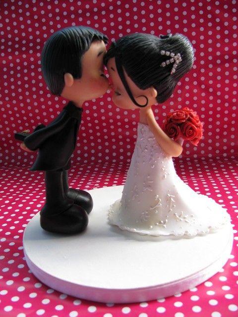 زفاف - Cold Porcelain And Polymer Clay