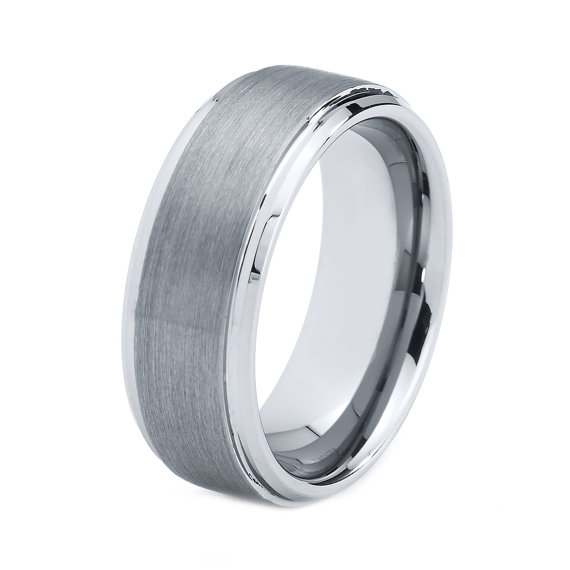 Anium Men Wedding Band | Titanium Wedding Band Men Titanium Rings Mens Wedding Band