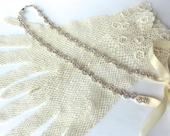Свадьба - Simple Bridal Headband, Rhinestone Headband, Diamante Hairband,Wedding Headpiece, Bridal Headpiece