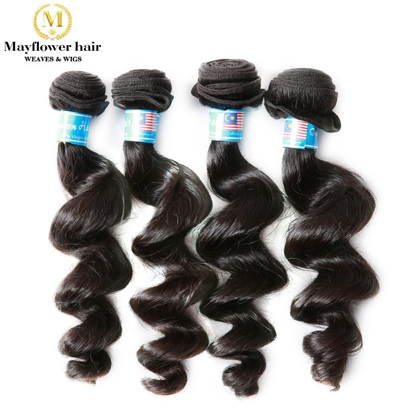 Hochzeit - Top Quality Virgin Malaysian Weave loose wave Human Hair