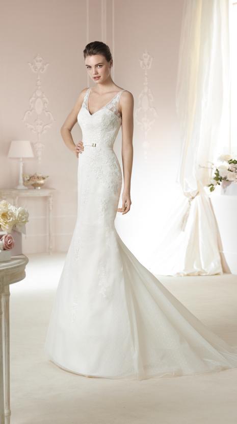 Mariage - Wedding Dress 2015 white one Style DABRIA