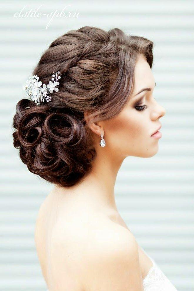 زفاف - Wedding Up Dos: 12 Darling Ways To Wear An Up Do