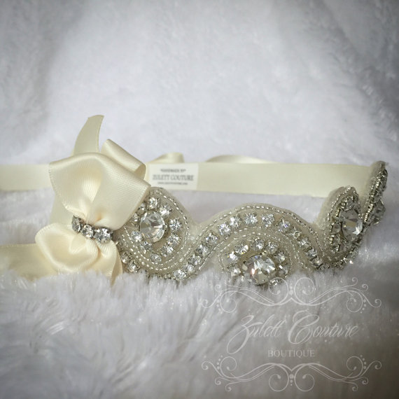 Mariage - Zulett Couture Crystal Headband