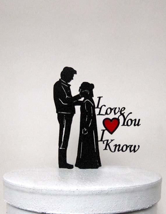 Wedding cake topper starwars leia hans solo 2 2337784 weddbook wedding cake topper starwars leia hans solo 2 junglespirit Choice Image
