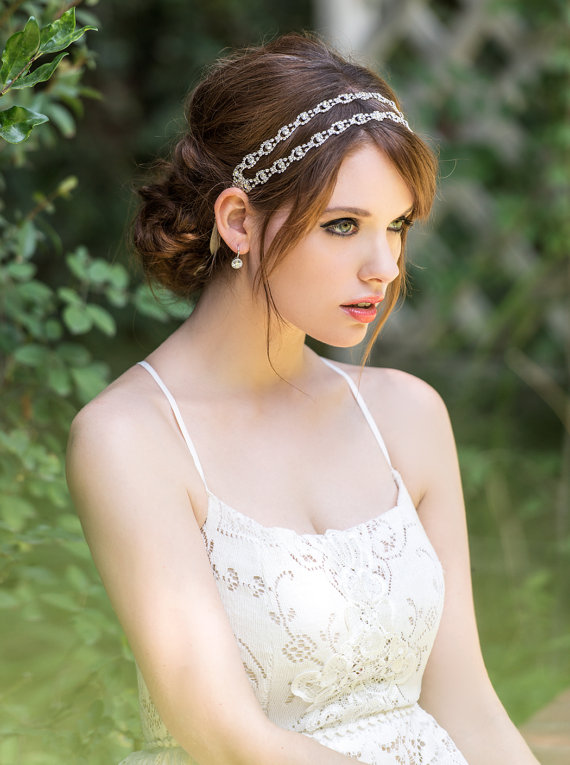 Crystal Bridal Headpiece 862f3b12e77
