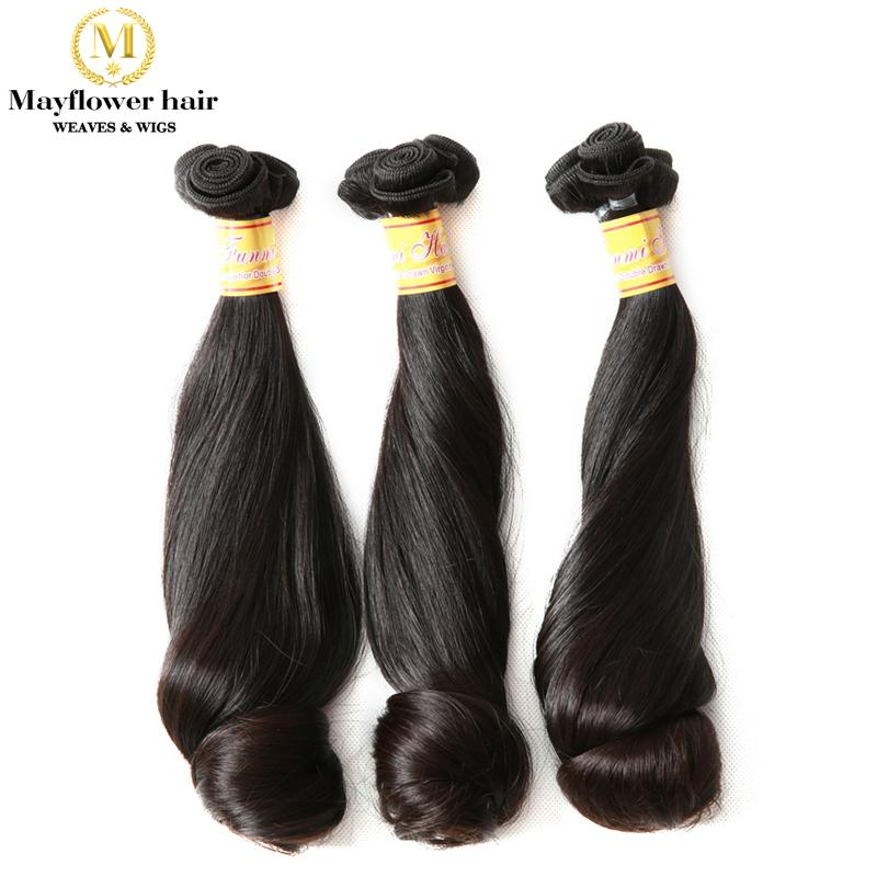 Hochzeit - Aunty funmi virgin hair egg roll double drawn natural black hair extension
