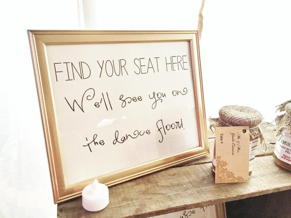 Mariage - INSTANT DOWNLOAD - Find Your Seat Sign - See You on the Dance Floor - Black and White Wedding - Please Find Your Seat Wedding Sign