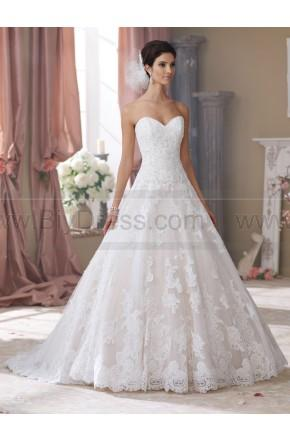 Hochzeit - David Tutera For Mon Cheri 214206-Wyomia Wedding Dress