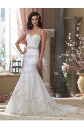 Wedding - David Tutera For Mon Cheri 214208-Micki Wedding Dress