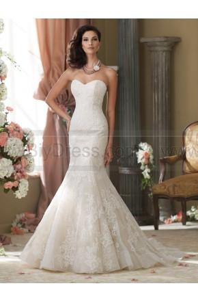 Wedding - David Tutera For Mon Cheri 214211-Sanya Wedding Dress