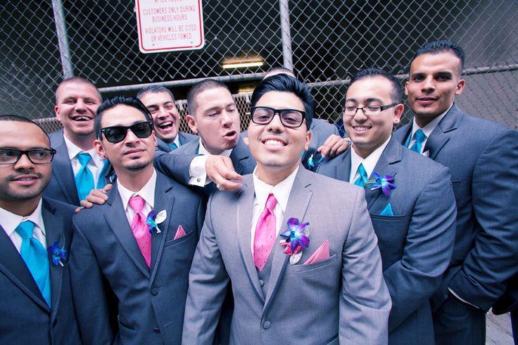 Wedding - Groom   Groomsmen Photos