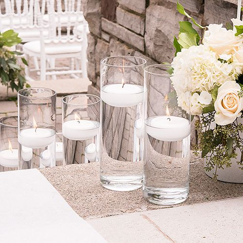Wedding - Glass Cylinder