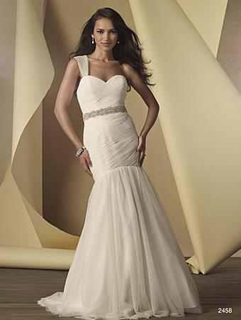 Hochzeit - Wedding dress 2015 Alfred Angelo Style 2458