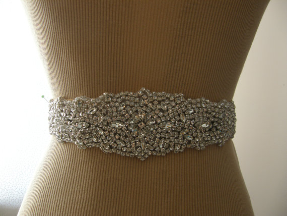 Wedding - SALE / Wedding Belt, Bridal Belt, Bridesmaid Belt, Sash Belt, Wedding Sash, Bridal Sash, Belt, Crystal Rhinestone