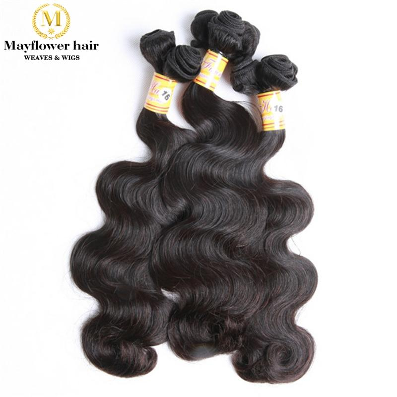 Mariage - New Funmi virgin hair body wave double drawn remy hair weaves