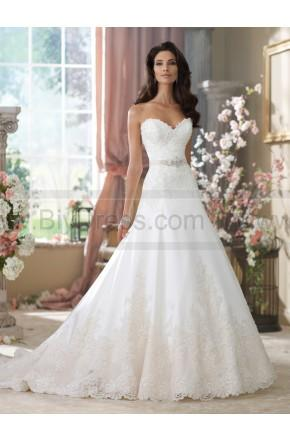 Wedding - David Tutera For Mon Cheri 214203-Nastia Wedding Dress