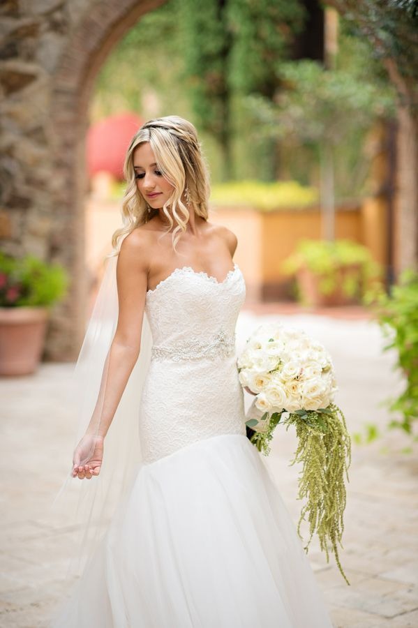 Elegant Pink And White Florida Wedding From Kristen Weaver Photography