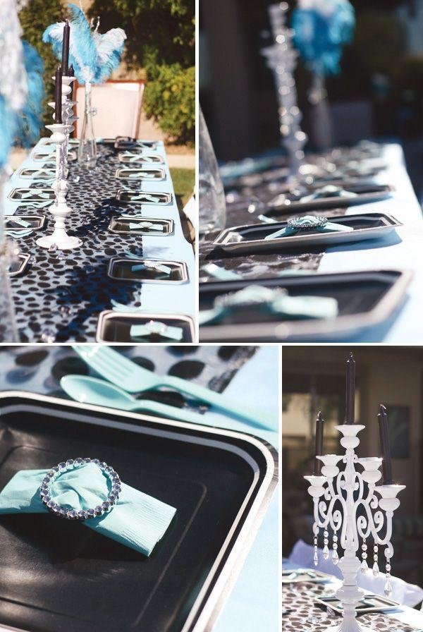 Hochzeit - Breakfast At Tiffany's Birthday Party