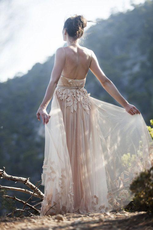 Mariage - Nude Tulle Dresses - Au Revoir