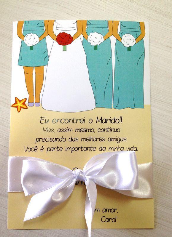 Mariage - Convites - Madrinhas E Padrinhos
